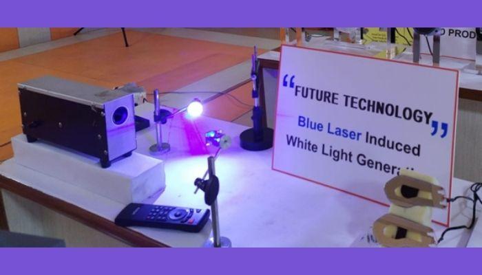 Blue Laser Induced White Light Generator developed by CSIR-NPL