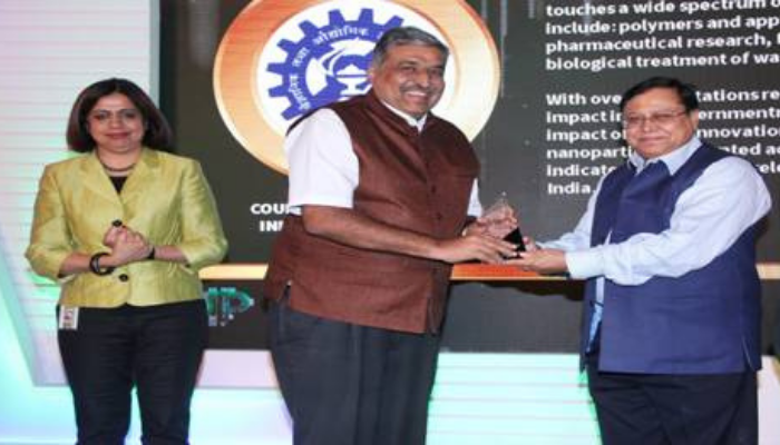 CSIR bags the Clarivate Analytics India Innovation Award 2018 in the Government Research Organizations Category