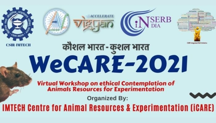 National Workshop on Ethical Contemplation of Animal Resources for Experimentation (WeCARE–2021)